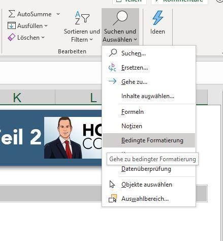 Suchen und Ersetzen Excel Suchfunktion