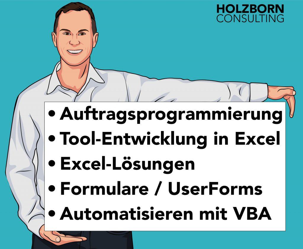 Holzborn Consulting Auftragsprogrammierung