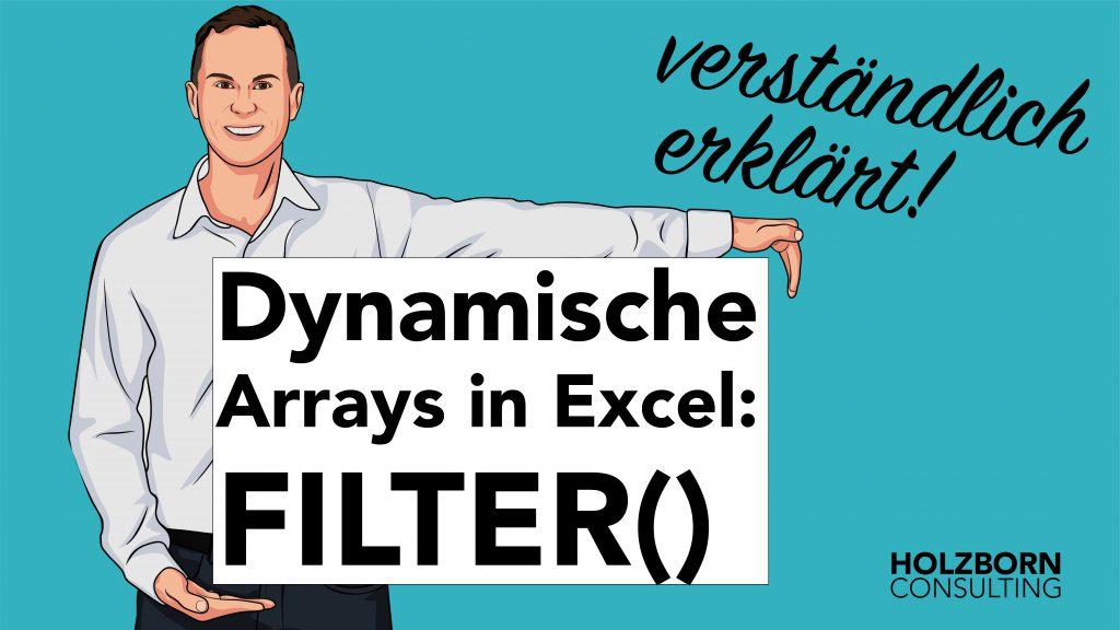 Dynamische Arrays Filter