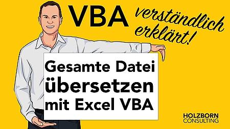 Gesamt Datei übersetzen VBA