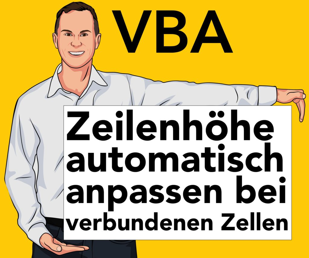 Zeilenhöhe automatisch verbundene Zellen VBA
