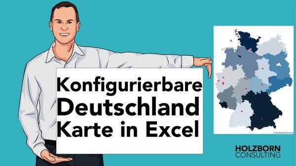 Deutschlandkarte PLZ Excel